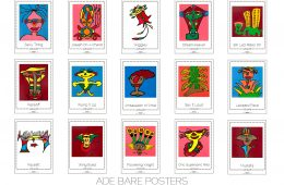 Ade Bare A2 Posters